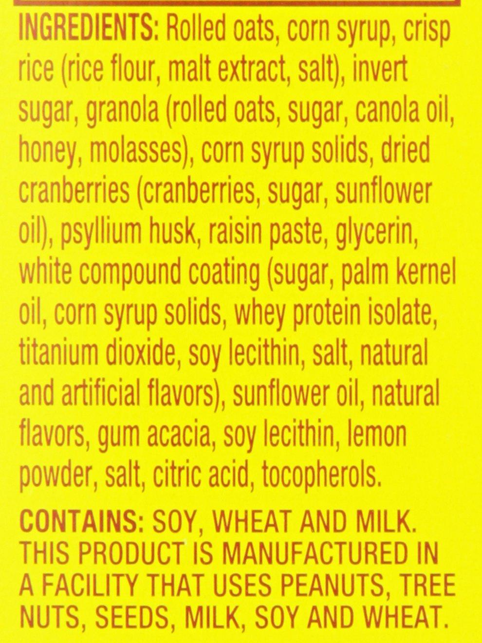 Ingredients in meta health bars - Amazon Com Meta Health Fiber Bar 100 Natural Psyllium Husk Cranberry Lemon Drizzle 6 Bars Health Personal Care