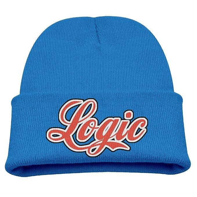d6be72f22 UIUjedore Logic Rattpack Logo Child Hats Skull Beanies Hat Small Cap ...