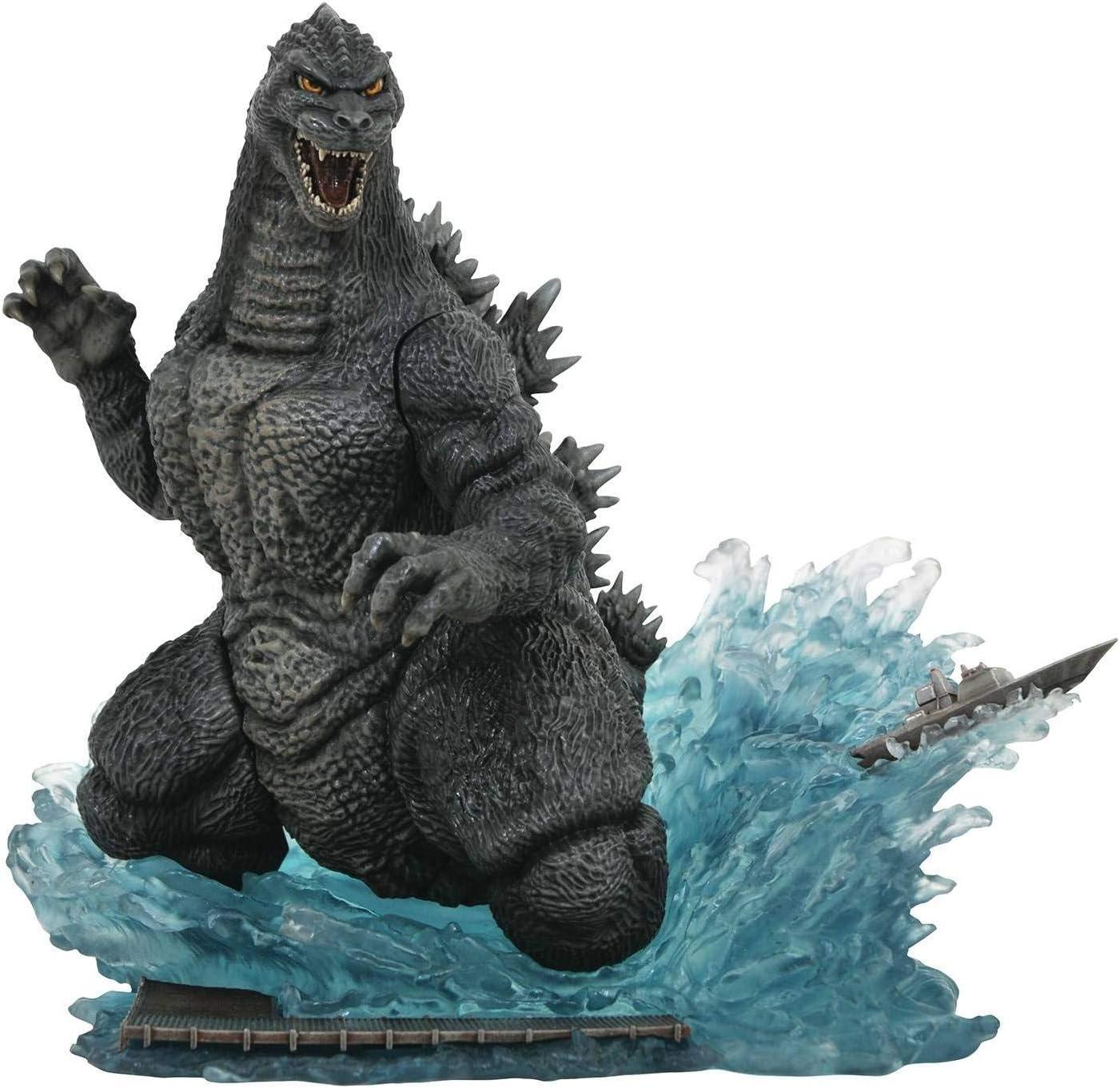 DIAMOND SELECT TOYS Godzilla Gallery: Godzilla 1991 Deluxe PVC Figure, Multicolor