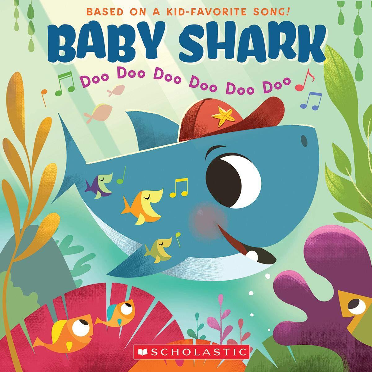 Baby Shark John John Bajet 9781338556056 Amazoncom Books