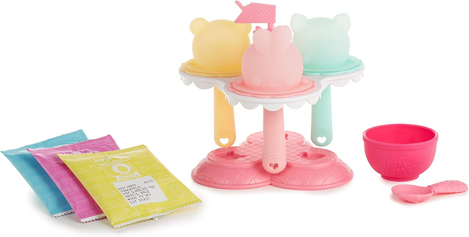 Num Noms Lights Freezie Pop Maker with Food Playset