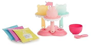 MGA Entertainment Num Noms Lights Freezie Pop Maker Cocina y Comida Estuche de Juego - Juegos