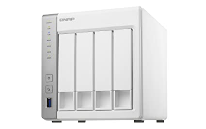 QNAP TS-431P, 4bay, 1GB RAM, Cost-effective NAS (Network-attached Storage),  Private Cloud, Backup, Share & Restore Files, stream multimedia files with