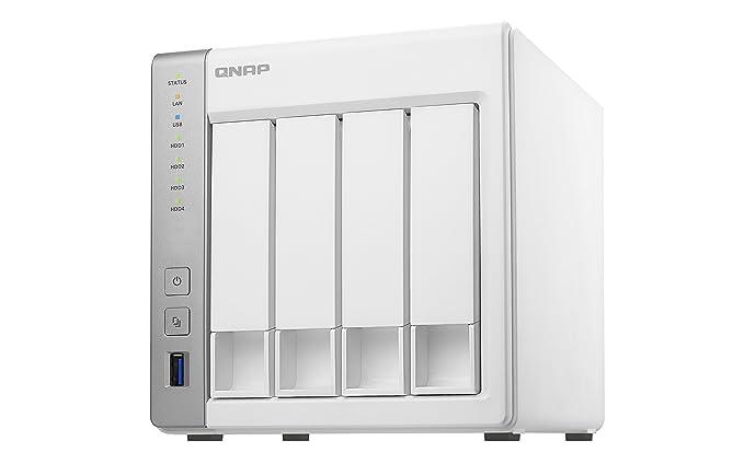 112 opinioni per QNAP TS-431P Collegamento ethernet LAN Torre Bianco NAS