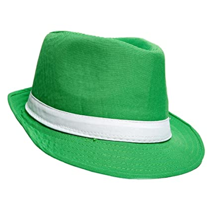 49416683870 Image Unavailable. Image not available for. Color  RINCO ST Patrick Day  Party Hat Fashionable Classic Irish Fedora