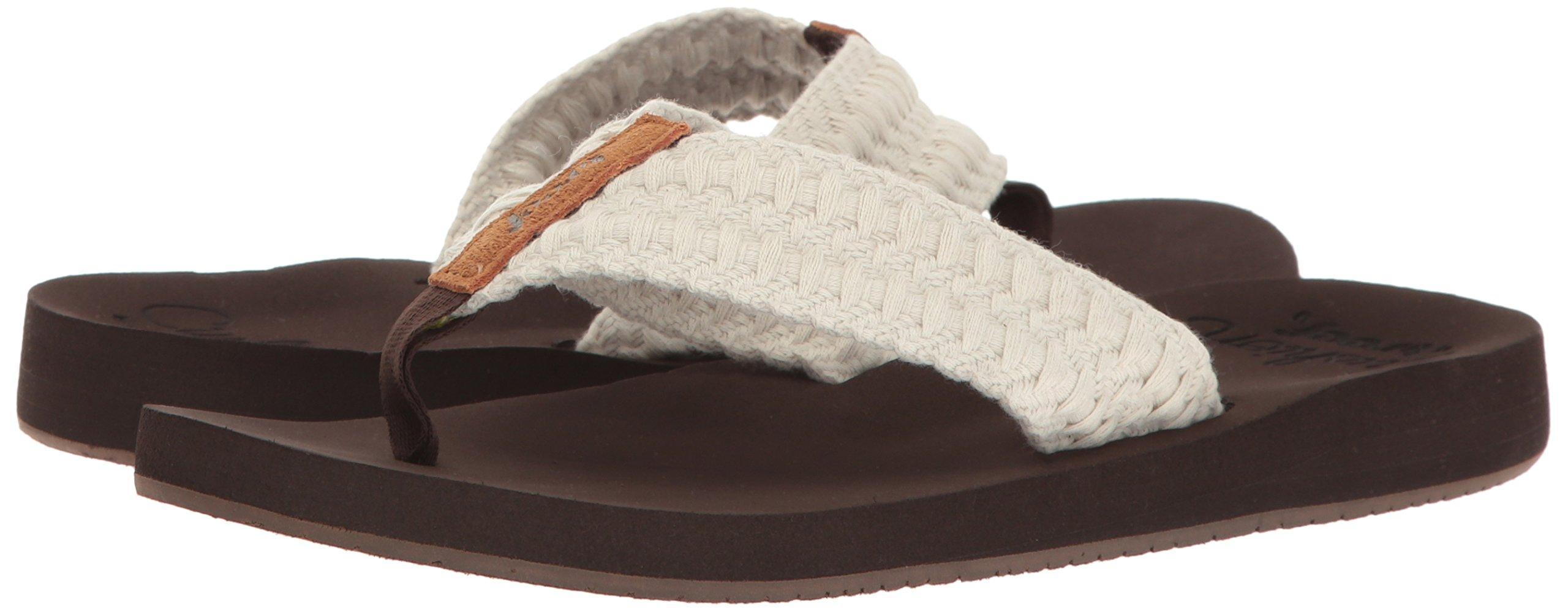 Choose SZ//Color. Reef Cushion Threads Womens Sandal