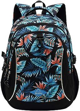 Schulrucksack Schultasche Schulranzen Rucksack Groß Junge Mädchen Kinder Tasche