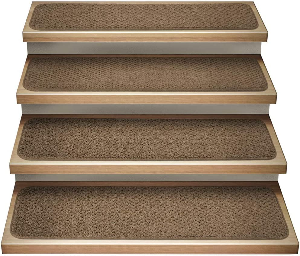 House Home and More Set of 15 Indoor Carpet It is very popular Stair Tr Max 44% OFF Attachable