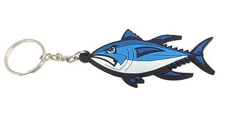 Amazon.com: Bluefin Tuna - Llavero con cierre de cremallera ...