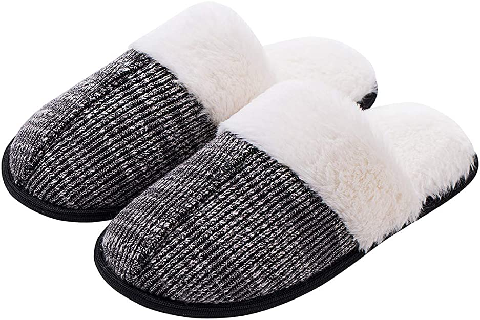 Dena lives Memory Foam Slippers WAS £13.99 NOW £6.29 w/code ZCUVKKQU @ Amazon