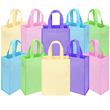 Amazon.com: Ava & Kings Bolsas de tela para fiesta, ideal ...