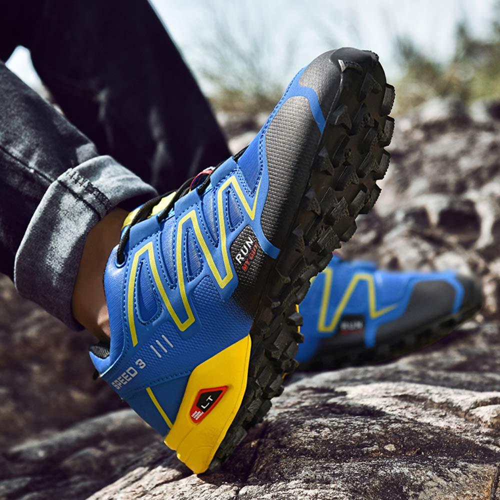 al Aire Libre Senderismo Zapatillas de Deporte,Speedcross Senderismo Zapatos. Hombre Calzado de Trail Running para Zapatillas Atl/ético