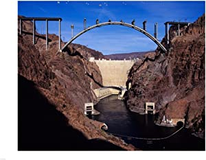 Hoover Dam Bypass Bridge Art Print, 43 x 32 inches