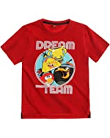 Angry Birds Boys Short Sleeve T-Shirt 2016 Collection - red