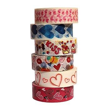 Hearts and Hearts Set Washi Tape