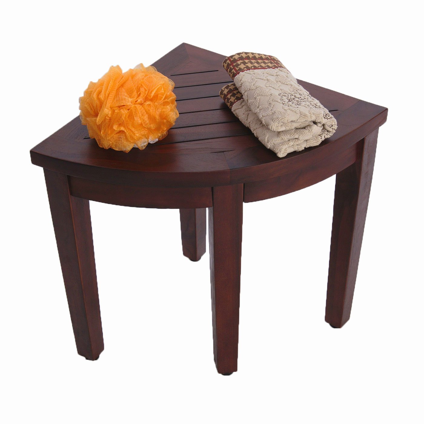 Lovely Amazon.com: Oasis Bathroom Teak Corner Shower Seat Stool Chair Bench   Sitting, Storage, Or Foot Rest: Health U0026 Personal Care