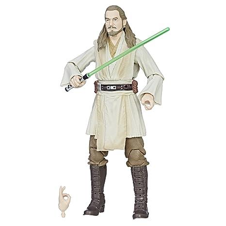 Amazon.com: Star Wars: Episode I The Black Series Qui Gon Jinn, 6 Inch:  Toys U0026 Games