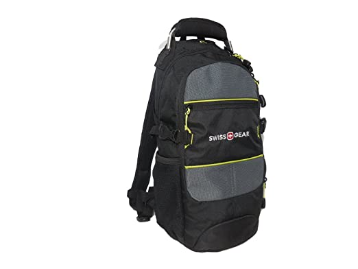 Amazon.com | Swissgear SA1651 CITY PACK Backpack - Black/Grey (18 ...