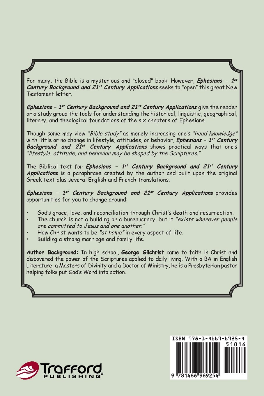 Ephesians 1st Century Background And 21st Century Applications