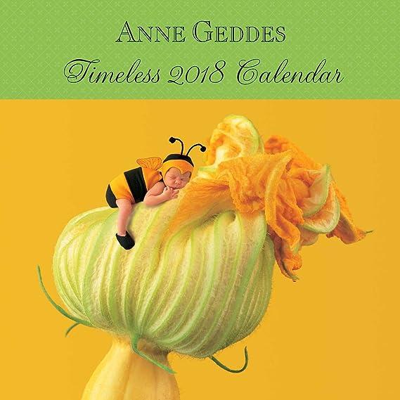Anne Geddes Timeless 2018 Wall Calendar