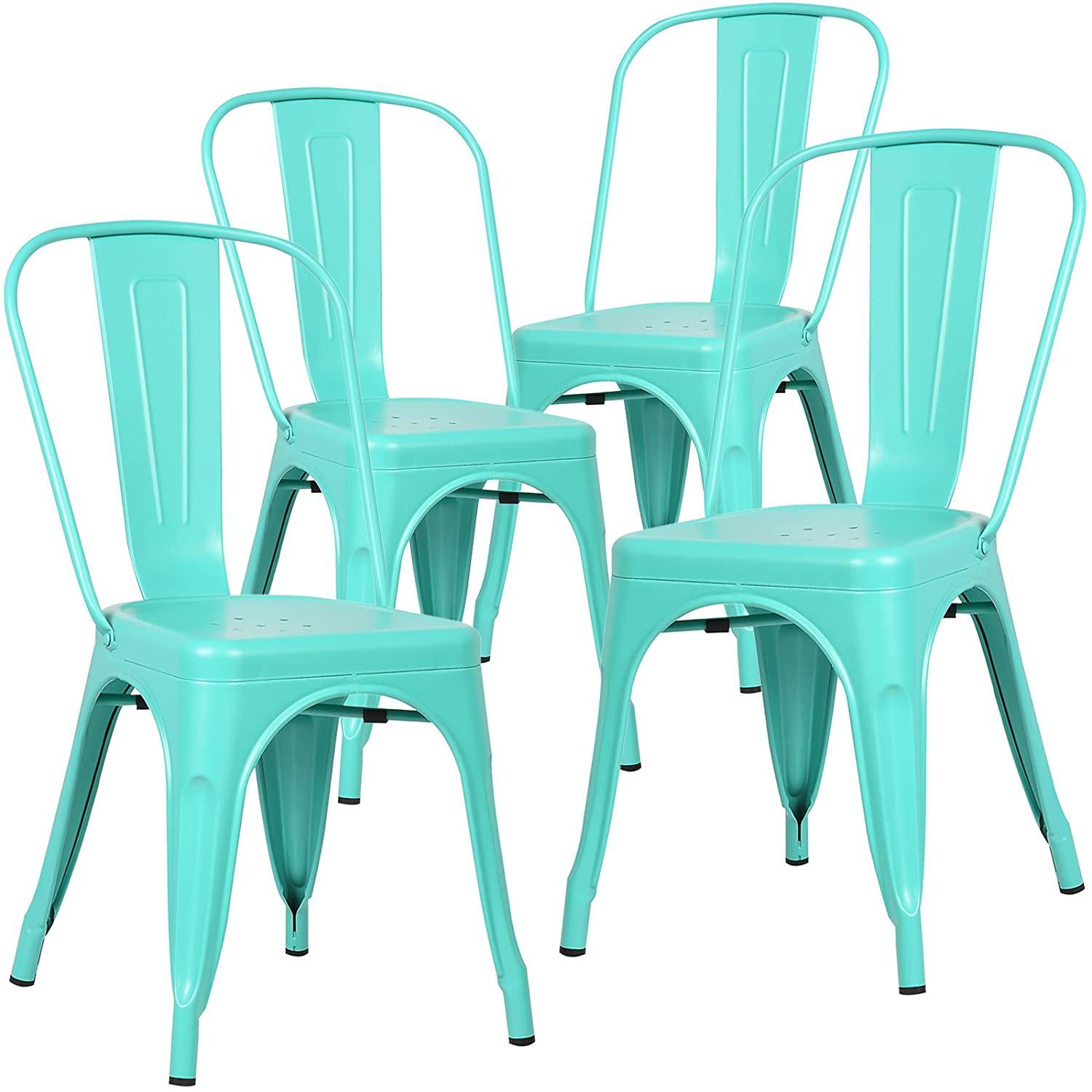Amazon Poly and Bark Tolix Style Bistro A Dining Side Chair