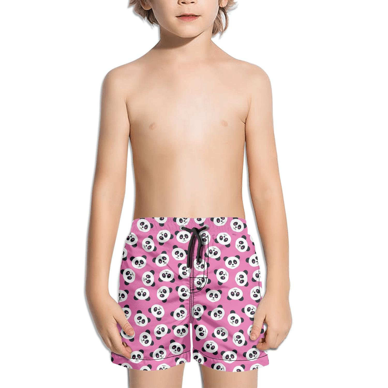 Websi Wihey Boy's Quick Dry Swim Trunks Graphic Cute Panda Fashione Shorts