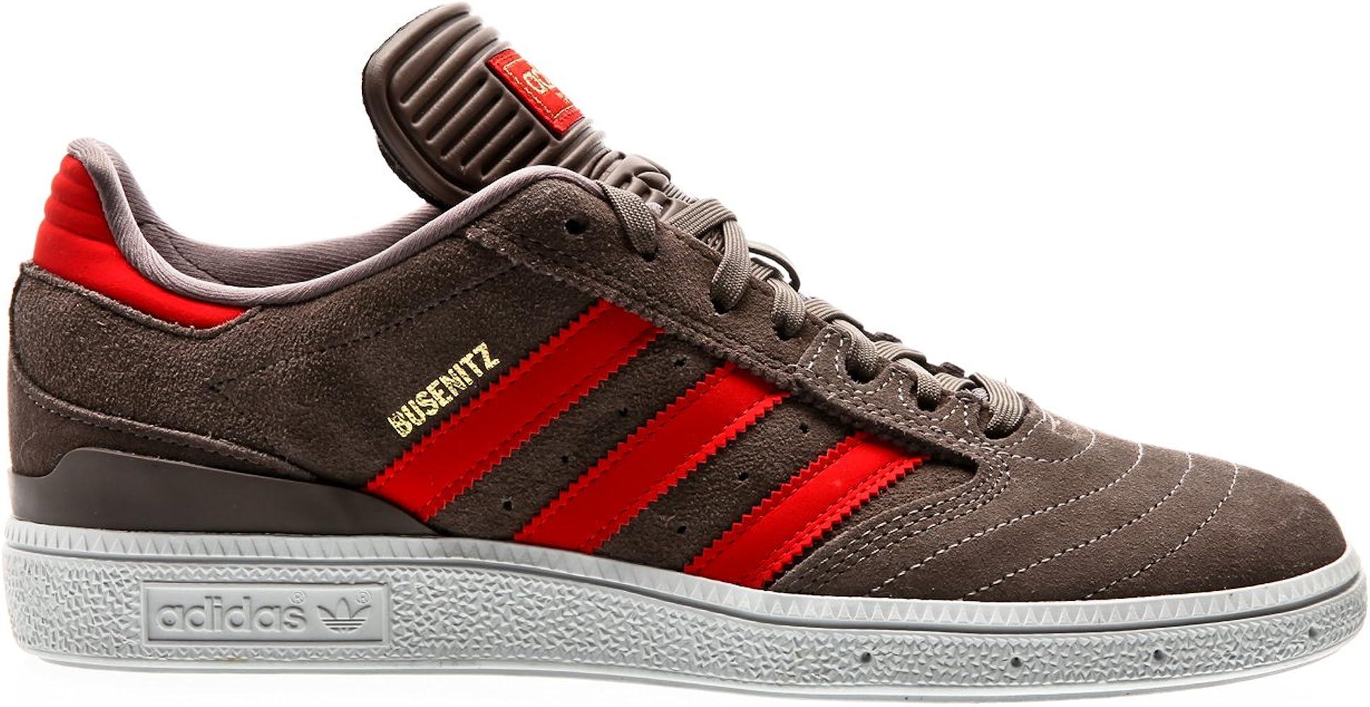 67299892 adidas Men's Busenitz Skateboarding Shoes, Grey (Tietec/Rojo/Dormet), ...