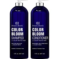 BOTANIC HEARTH Shampoo and Conditioner for Color Treated Hair - with Special Blend...