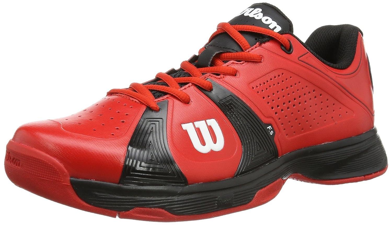 Wilson Rush Sport Red/Black/Red - Zapatillas De Tenis de Material sintético Hombre