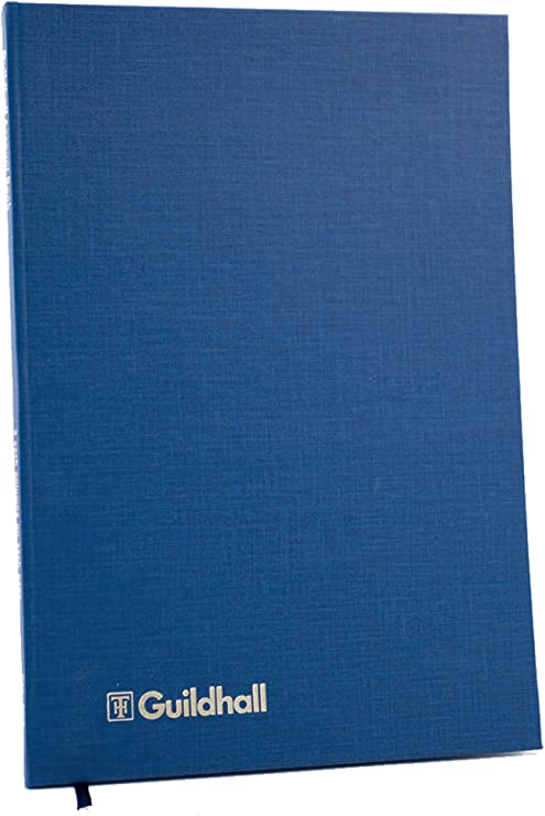 298 x 203 mm 24 Sheets 14 Cash Columns Exacompta Guildhall Accountancy Paper