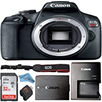 Canon EOS Rebel T7 24.1MP Digital SLR Camera Retail Packaging Bundle (Body Only)