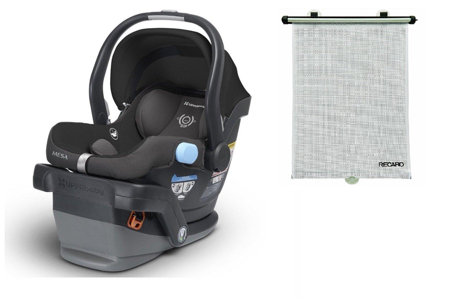 UPPAbaby MESA Infant Car Seat, Jake (Black) 2015-2016 model.