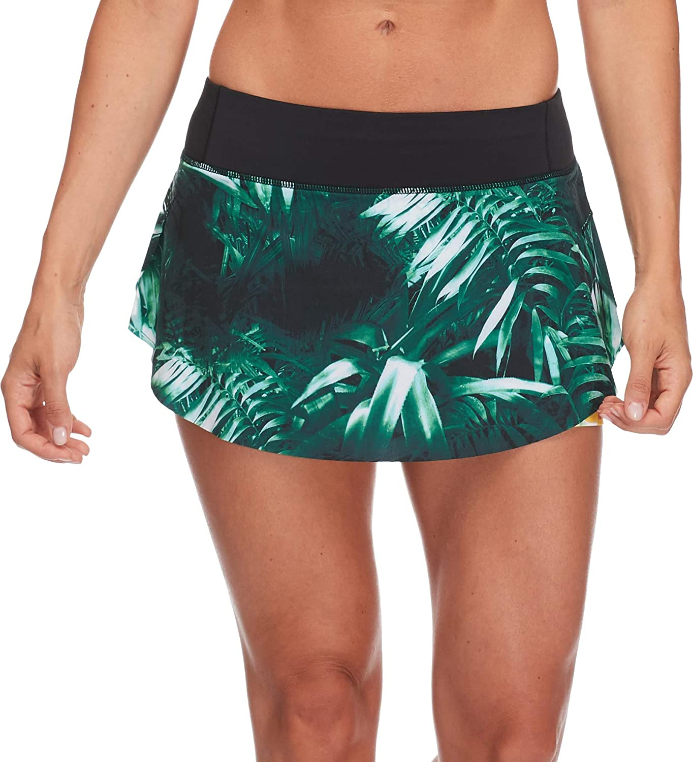 Body Glove Womens Ceres Loose Fit Activewear Skirt with Undershort