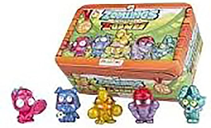 ZOMLINGS Serie 4 Lata Metalica Caja Tin Z Games Ultima Generacion Serie 4 Blister (4 Zom-móvil y 4: Amazon.es: Juguetes y juegos