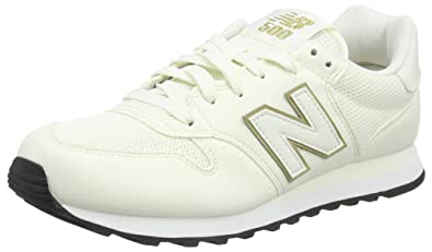 promo code e5d79 df772 Amazon.com | New Balance Classics 500 Ladies Footwear White ...