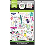 me & my BIG ideas Sticker Value Pack for Classic Planner - The Happy Planner Scrapbooking Supplies - Teacher Theme…