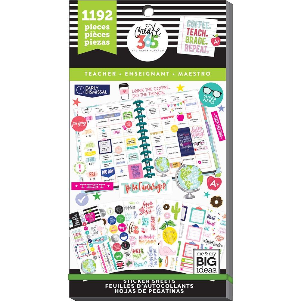 ME and My Big Ideas PPSV-23-2048 C365 Sticker Teacher Value Pk by Me & My Big Ideas