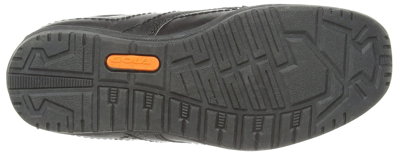 Gola Brando - Chaussures En Cuir Avec Des Enfants De Dentelle, De Couleur Noire, Taille 37