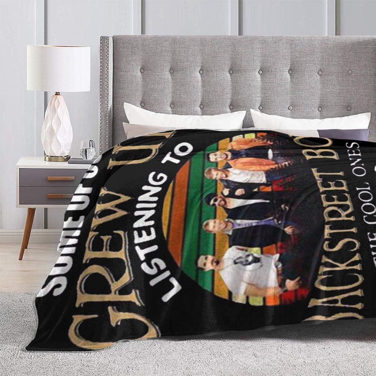 Flannel Throw Blanket Grew Up Backstreet Boys Multi-Purpose Luxurious Royal Plush Cozy Throw Blanket for Sofa Cold Cinema Car Inner Or Travel