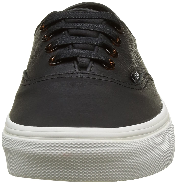 Unisex-Erwachsene Authentic Decon Sneakers, Schwarz ((Tortoise) Black/Blanc De Blanc), 41 EU Vans