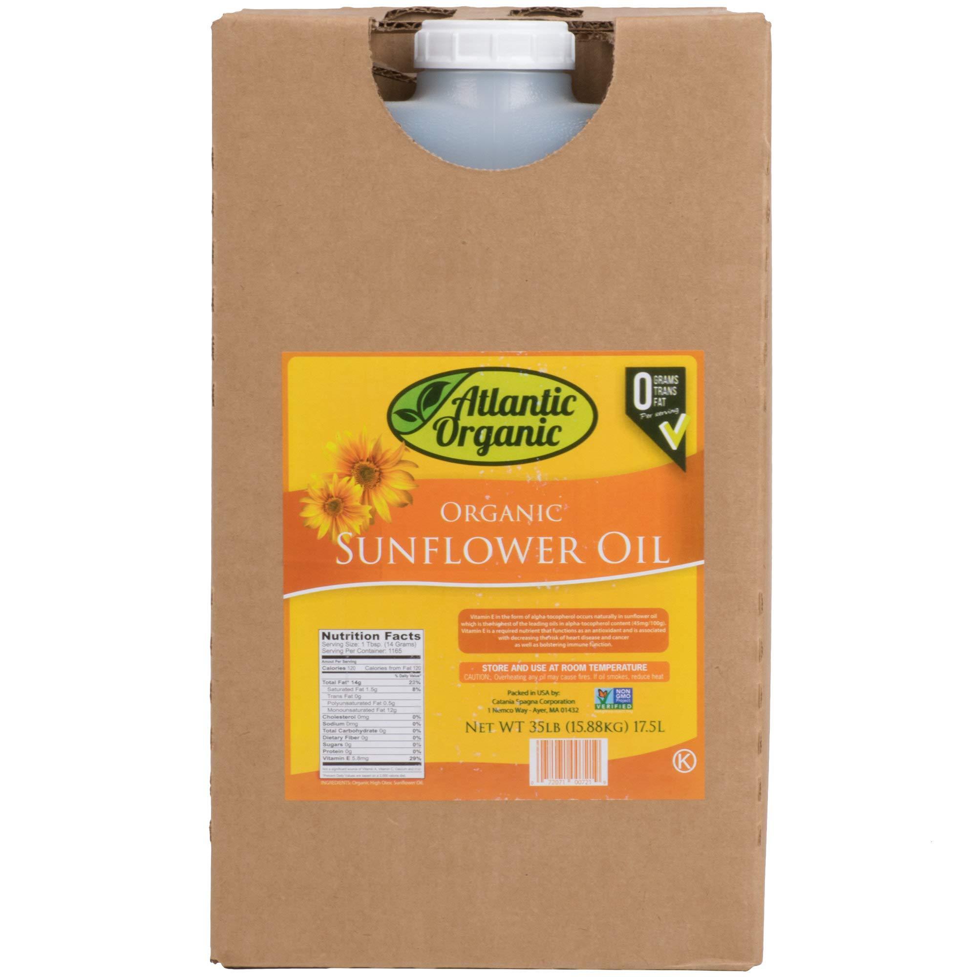 1Dealz 100% Organic Sunflower Oil - 35 lb. by 1Dealz 100% Organic Sunflower Oil - 35 lb.