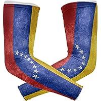 HEY BOX - Mangas de compresión para Brazo, diseño de la Bandera de Venezuela