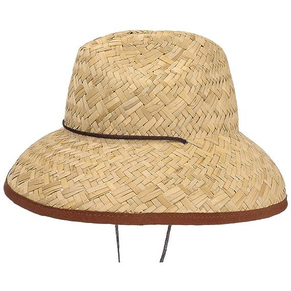 482c2f5713496 Lipodo Lifeguard Straw Hat Beach Sun (One Size - Nature): Amazon.co.uk:  Clothing