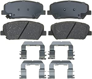 ACDelco 17D1413CH Professional Ceramic Front Disc Brake Pad Set