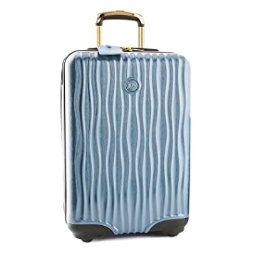 a785aa9bfc35 Joy Mangano Hardside Medium Carry-On Luggage, Steel Blue