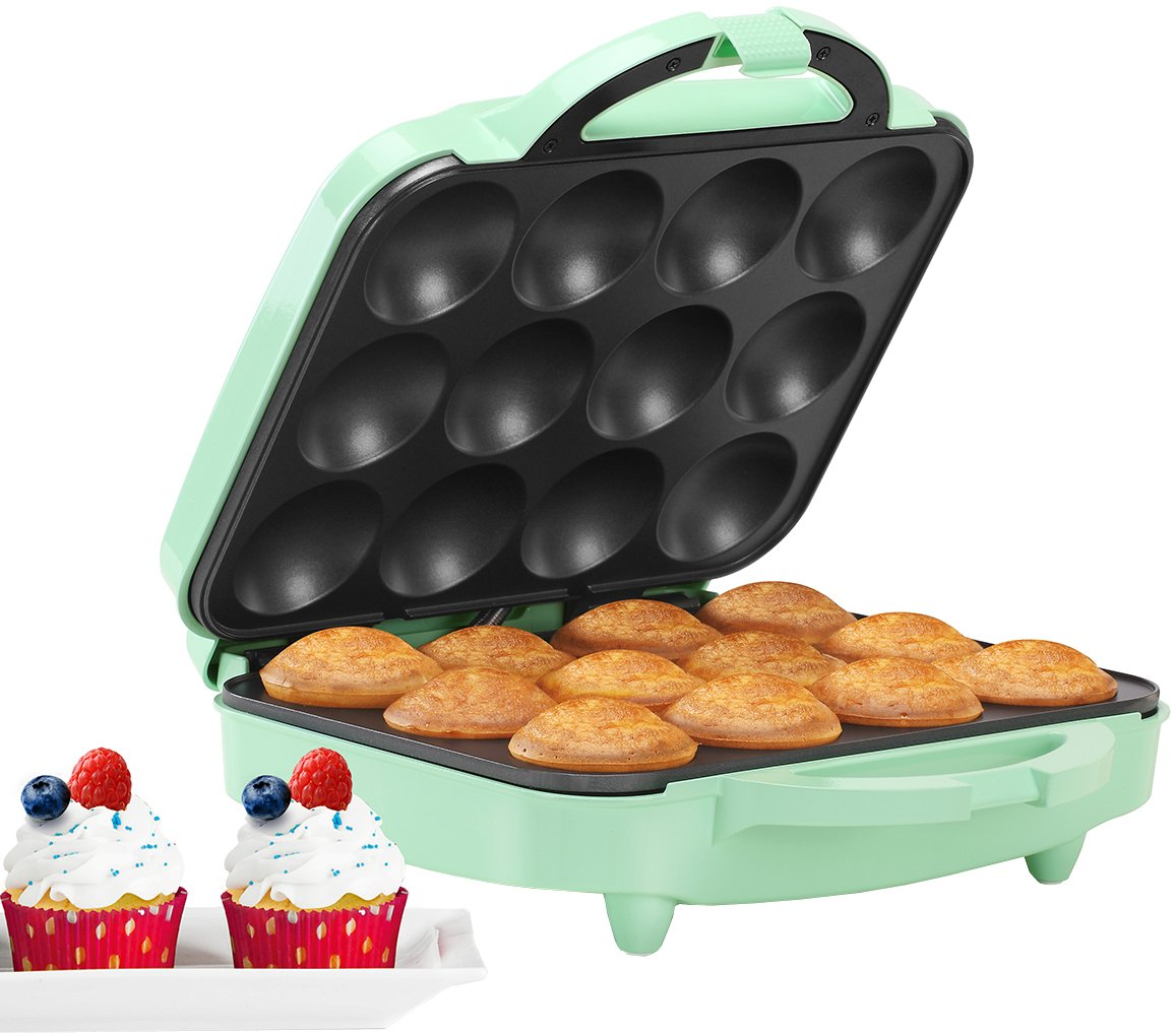 Holstein Housewares HU-09006I Cupcake Maker, Mint by Holstein Housewares