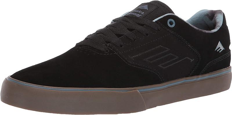Emerica Reynolds Low Vulc Sneakers Damen Herren Unisex Schwarz/Grau/Gummi