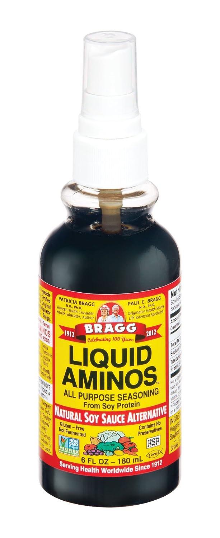 Bragg Liquid Aminos, All Purpose Seasoning, 6 Ounce