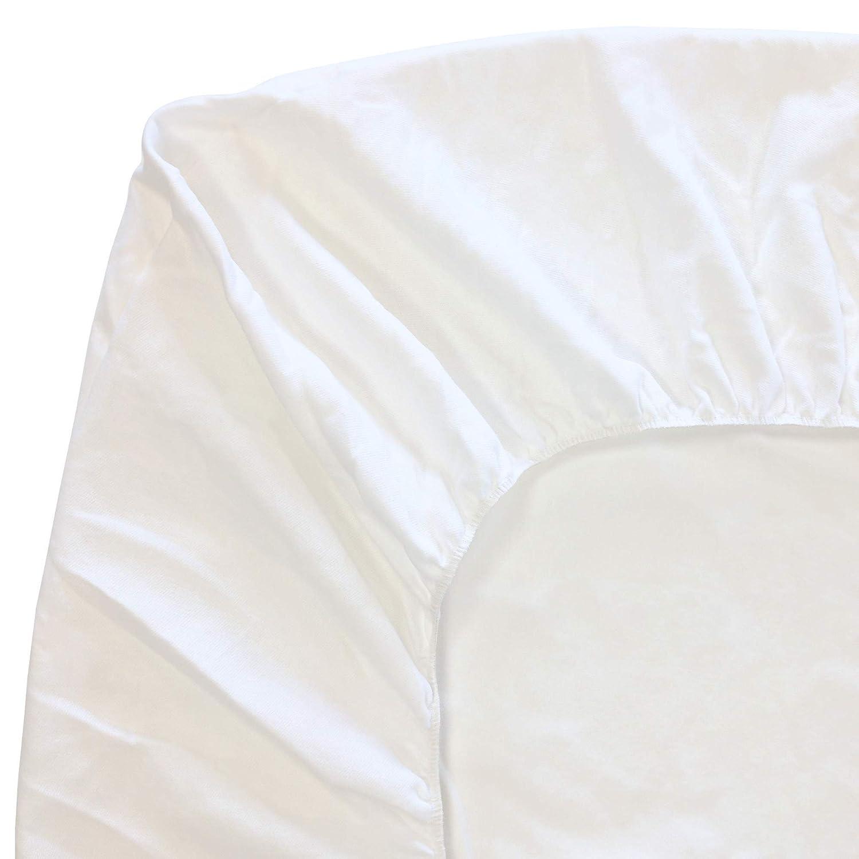Prot/ège Matelas 110x190 cm ACHUA Molleton 100/% Coton 400 g//m2 Bonnet 30cm