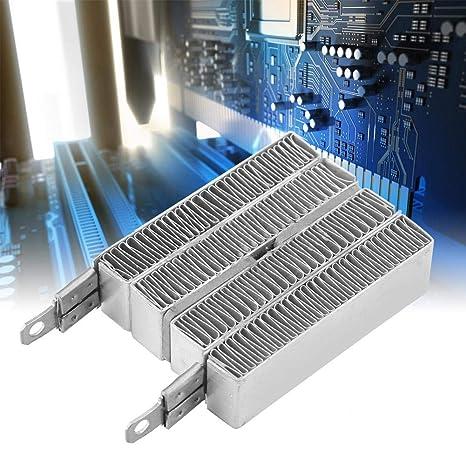 12V Placa de Calefacci/ón de Ondulaci/ón Constante de la Temperatura PTC de la Carcasa de Aluminio 12V 70W 24V Calentador de Los Termistores de Aluminio